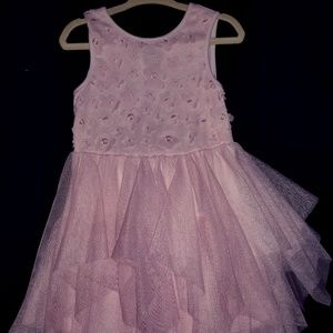 Pink Party toddler dress